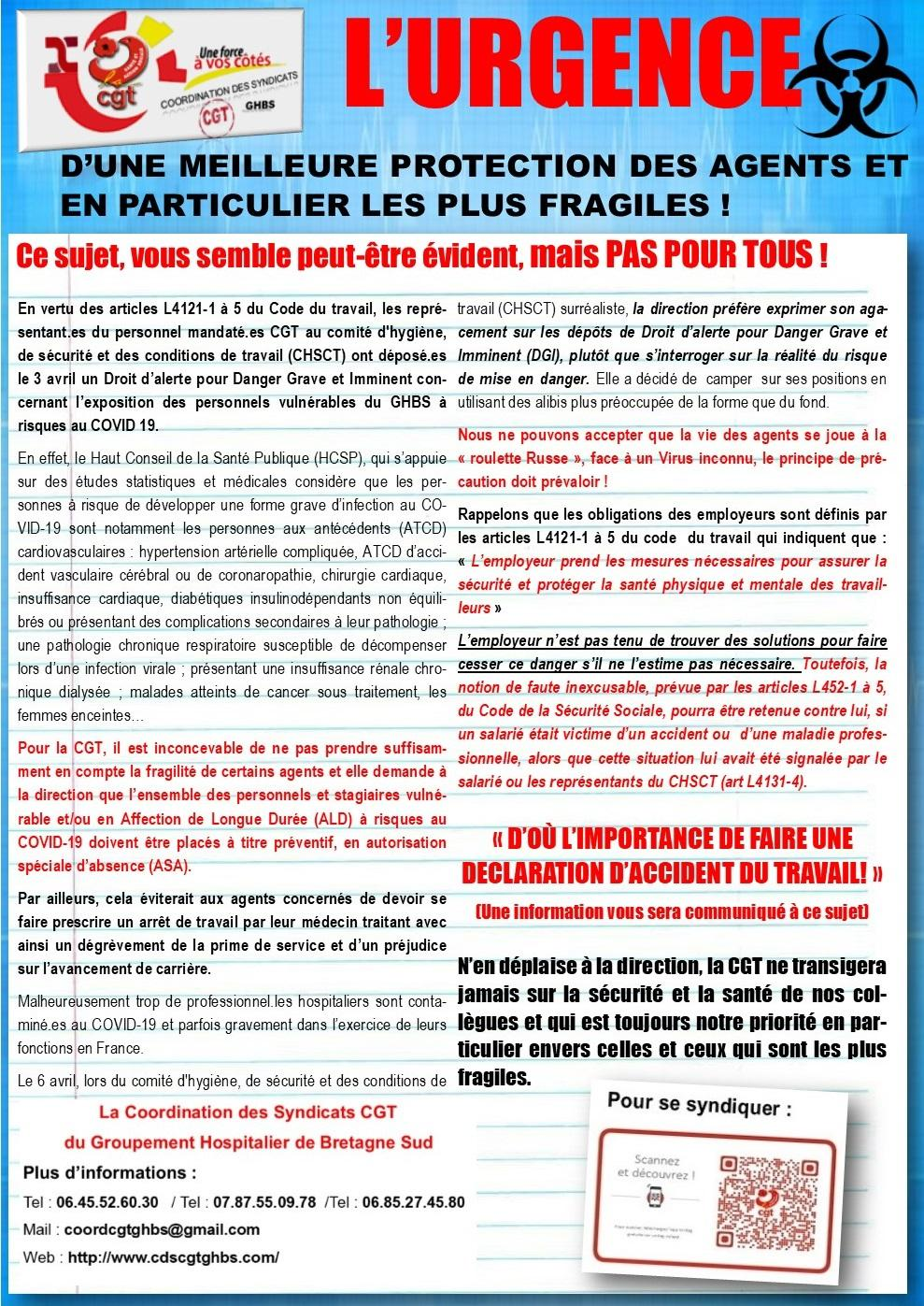 08042020 tract urgence protec agents cds cgt ghbs