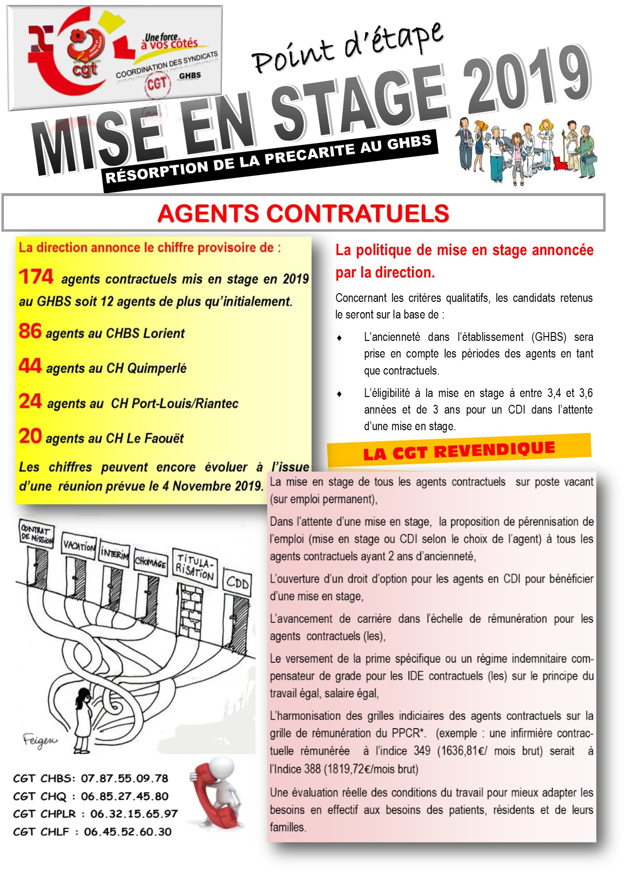 Tract mise en stage 2019